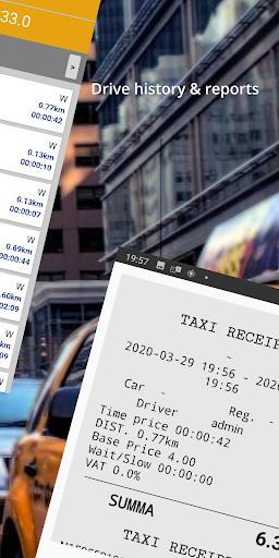 Taximeter & Working Hours Tracker : Cabidi screenshots 5
