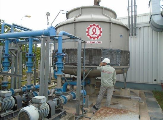 Thép giải nhiệt bằng nước ở các nhà xưởng