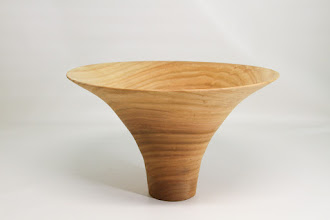 "Photo: Bob Grudburg 6 1/2"" x 10"" flare bowl [cherry]"