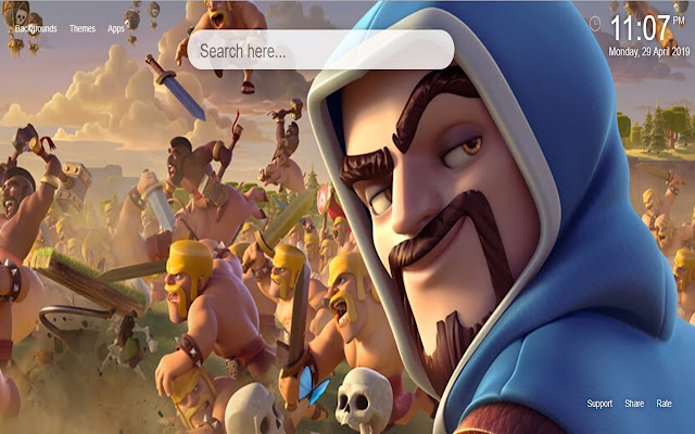 Clash Of Clans HD Wallpapers New Tab