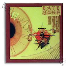 "Photo: Фото альбома Кейт Буш ""The Kick Inside"" (1978) на керамической плитке для Гала радио"