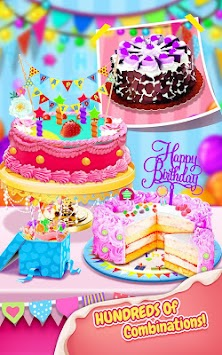 Sweet Birthday Cake Maker Poster