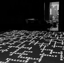 Photo: Cool photo of the Developing Thoughts print on the Light Table
