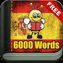 Learn Spanish - 6000 Words - FunEasyLearn icon