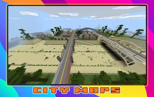 New City Maps for minecraft screenshot 1