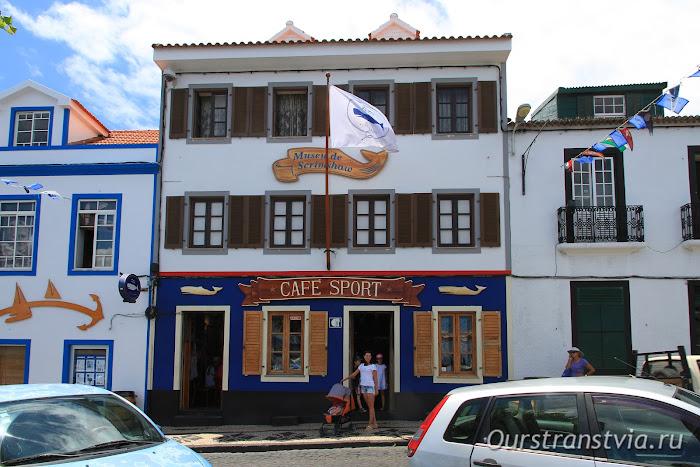 Peter Café Sport, Фаял, достопримечательности Орты