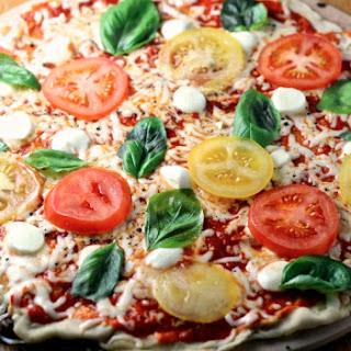 Thin Crust Neapolitan Pizza.