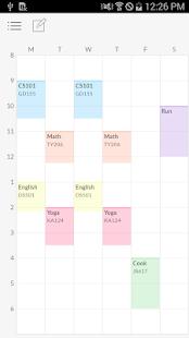 Timetable TimeSpread- screenshot thumbnail