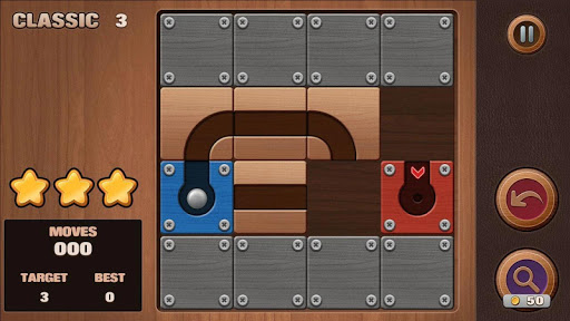 Moving Ball Puzzle screenshot 4