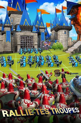 Lords Mobile: Guerre des Royaumes - Bataille RPG  captures d'écran 1