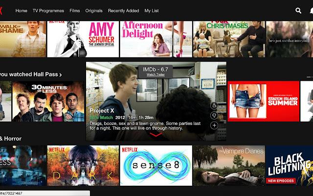 IMDB Movie rating lookup for Netflix