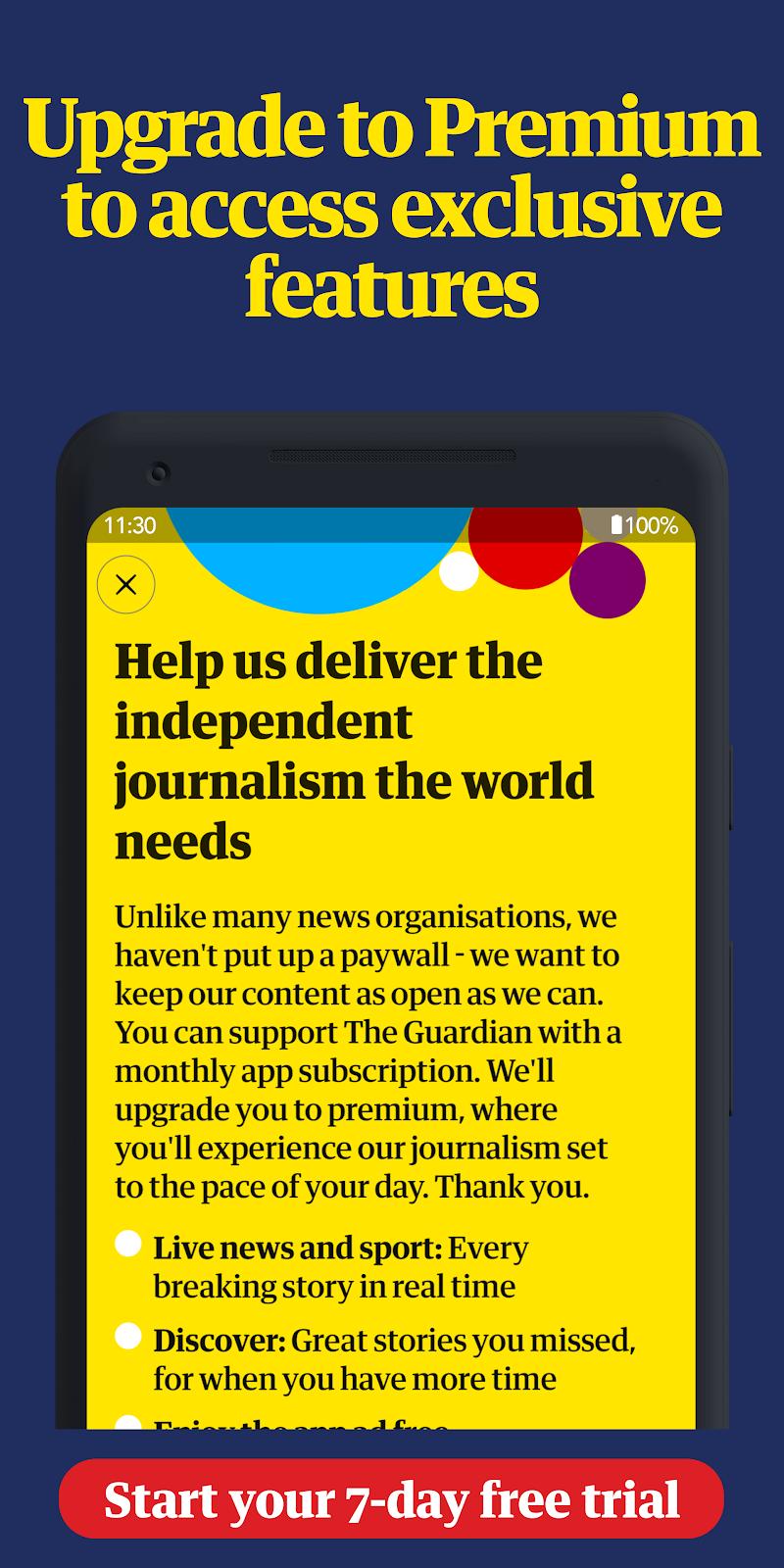 The Guardian: Top Stories, Breaking News & Opinion Screenshot 4
