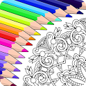 Colorfy: Coloring Book for Adults - Free icon
