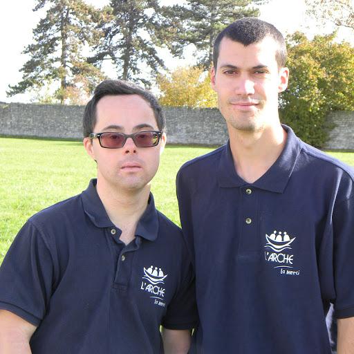 Gaëtan et Ludovic Marathon Cognac profit L'Arche