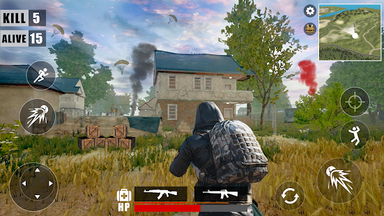 Download Survival Battleground Free Fire : Battle Royale For PC Windows and Mac apk screenshot 1