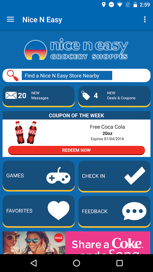 Nice N Easy Deals App- screenshot