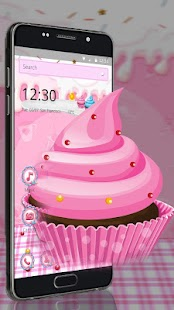 Sugary Cup cakes Theme - náhled