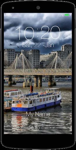 London Keypad LockScreen