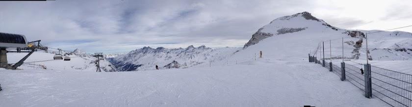 Photo: Back down Swiss side at top ofFurggsattel
