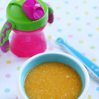 Basic Baby Porridge.