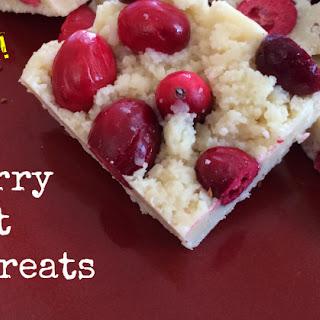 Cranberry Coconut Paleo Treats (Grain Free, Dairy Free, Nut Free, Egg Free)