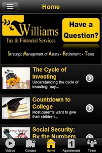 Williams Tax & Financial- screenshot thumbnail