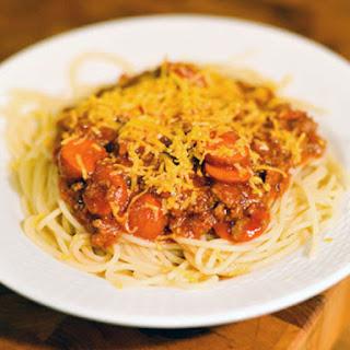 Filipino Spaghetti Sauce.