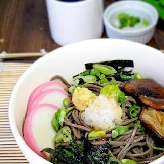 Soba Noodles Chirashi