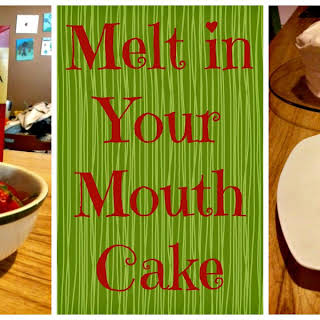 Melt in your Mouth Moist Strawberry Cake.