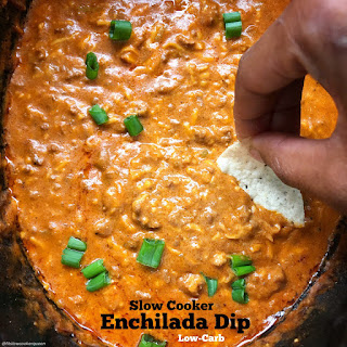 Slow Cooker Enchilada Dip (Low Carb).