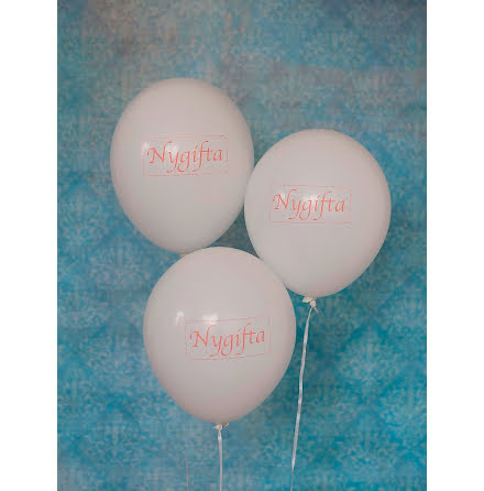 Ballonger Nygifta - Minna rosa
