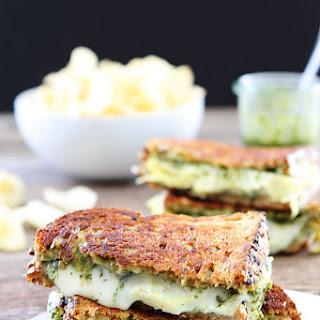 Pesto, Artichoke, and Havarti Grilled Cheese.