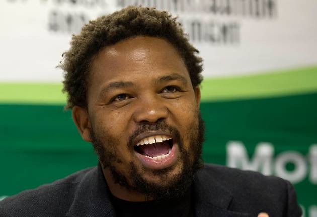 The BLF says Andile Mngxitama was speaking in the context of self-defence when, at a rally in Potchefstroom on Saturday, December 8 2018, he made comments about killing white people.