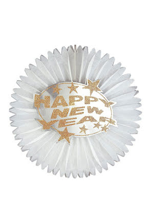 Glitterpapper med Happy New Year