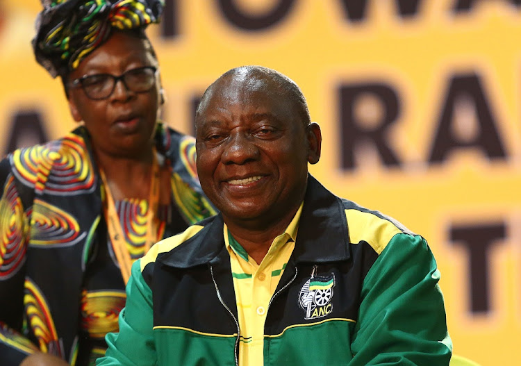 President Cyril Ramaphosa during the 54th ANC National Conference that took place in Nasrec, Johannesburg on 16 December 2017.
