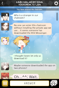 Mystic Messenger Screenshot
