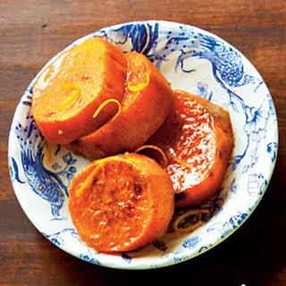 Orange-Glazed Sweet Potatoes.