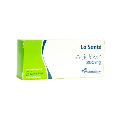 Aciclovir Elter 200 mg x 24 Tabletas