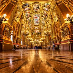Opera Garnier. by Sebastien Gaborit - Buildings & Architecture Other Interior