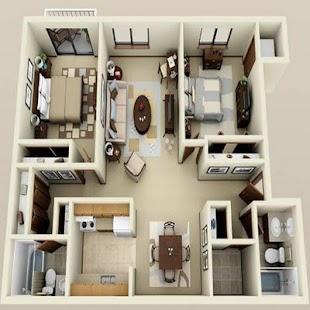 120+ 3D Home Design Ideas - náhled