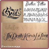 Artistic Tattoo Fonts Ideas