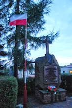Photo: pomnik poświęcony żołnierzom Armii Krajowej