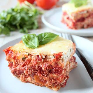 Garlic Naan Lasagna