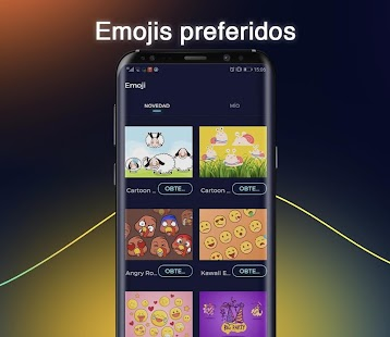 Cheetah Keyboard - Teclado de emoji y gif Screenshot