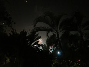 Photo: New Year's fireworks and balloons in Chiang Rai