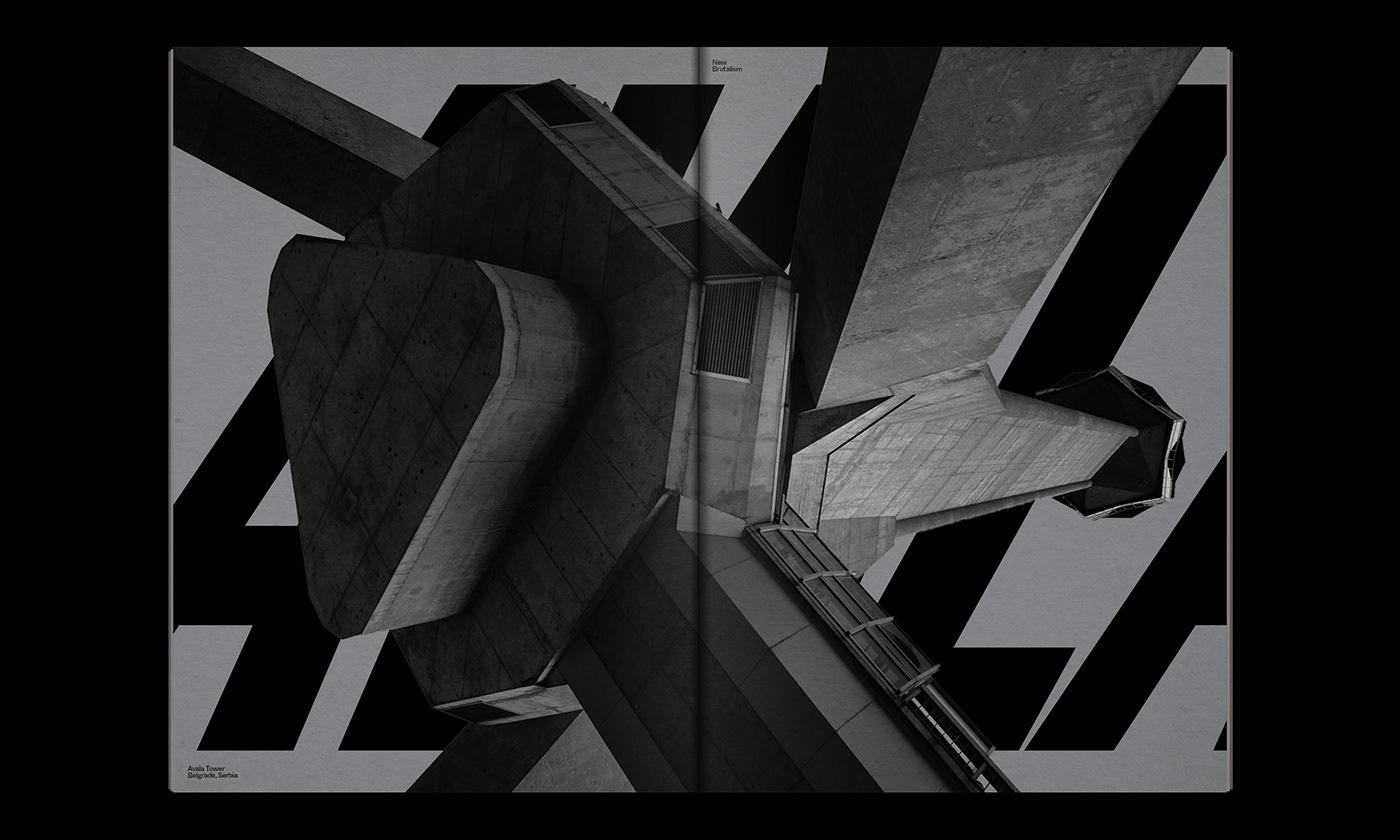 Editorial Design : New Brutalism Controversial Concrete 23