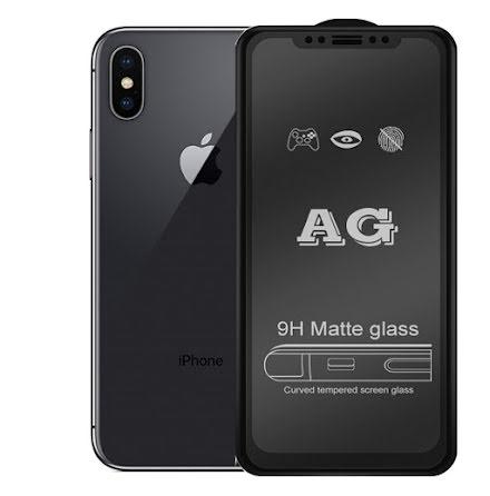 iPhone X/XS 2.5D Anti-Fingerprints Skärmskydd 0,3mm