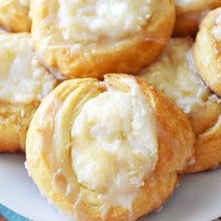 Crescent Roll Cream Cheese Danish.