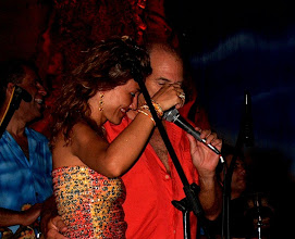 Photo: performing with acclaimed music personality Jimmy Buffet in Puerto Aventuras, Mexico