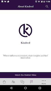 TheKindredApp - náhled